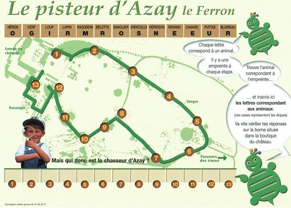 Le pisteur d Azay le Ferron